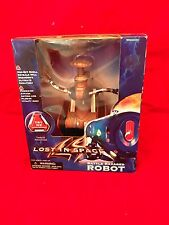 New Old Stock 1997 - Lost in Space Battle Ravaged Robot Mint Unopened Box