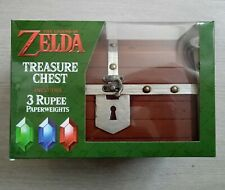 Zelda treasure chest rupees coffre neuf