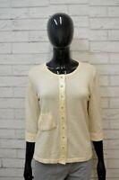 BURBERRY Donna M Maglia Manica a 3/4 in Lana Maglione Pullover Sweater Women
