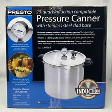 Presto 23 Quart Pressure Canner / Cooker 01784 Induction Stainless Brand New!