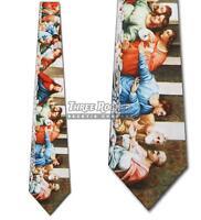 Last Supper Tie Leonardo da Vinci Neckties Mens Art Neck Ties Brand New