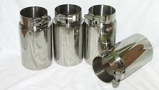 """BMW E46 M3 Oversized 3""""Exhaust Tip Set of 4 - 304 Stainless"""