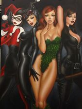 Mimi Yoon SIGNED Bad Girls Harley Ivy DC Giclee on Paper Limited Ed of 250