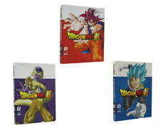 Dragon Ball z Super Part One Two and Three 1 & 2 & 3 Bundle DVD Sets