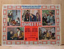 RIGOLETTO fotobusta poster Gobbi Filippeschi Verdi AL11