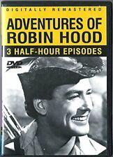 Adventures of Robin Hood (3 Half-hour Epiodes) Dvd, New