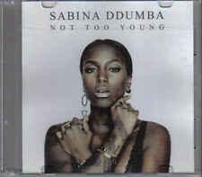 Sabina Ddumba-Not Too Young Promo cd single