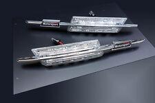 BMW M 3 Series E46 PreFacelift LED Clear Side Marker Lights Turn Signals Blinker