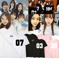KPOP GFRIEND Tshirt L.O.L T-shirt Unisex Tee So Won Cotton Ye Rin Eun Ha Sin B