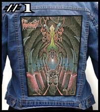 MONSTROSITY  --- Huge Jacket Back Patch Backpatch --- Various Designs