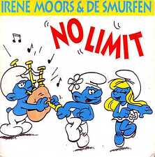 ☆ CD SINGLE Les SCHTROUMPFS - De SMURFEN No limit 2-track CARD SLEEVE ☆