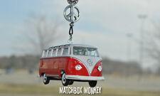 1960 Volkswagen Deluxe Micro Bus Van Camper Kombi VW T2 Mirror Hanger Ornament