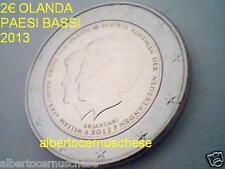 2 euro 2013 OLANDA Paesi Bassi Pays Bas abdicazione Beatrix per Willem Alexander