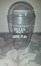 "Vtg Hills Bros. Coffee Container/ Shaker ""Shake It Up"""