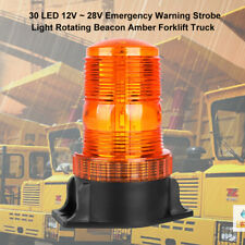 30W 12V Car Rotating LED Amber Emergency Beacon Flash Strobe Light Warning Light