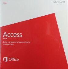 Microsoft Access 2013 (Windows)