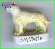 "Feve Les Races de Chien Dog Edition Atlas "" Le Golden Retriver ""  #A34"