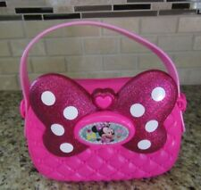 Minnie Mouse Pink Sparkle Bow Kid's Purse