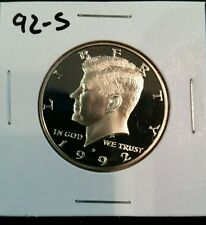 1992-S US PROOF KENNEDY HALF DOLLAR FROM US PROOF SET