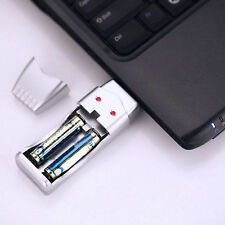 Rechargeable NiMH Battery & AAA and AA High Capacity USB Charger SY