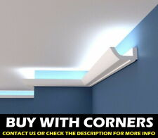 XPS COVING LED Lighting cornice BGS7 -=LOWEST  PRICE=- 120mm x 60mm Easy-to-fit