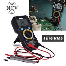 Professional Digital True RMS Multimeter Ammeter Auto Range Tester AC/DC Current