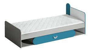 Bett FUTURO mit Federkernmatratze 195 x 80 cm