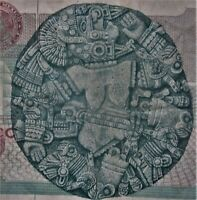 MEXICO Ten Thousand Peso 10,000 Dollar Coyolxāuhqu  LV Series Banknote LOW SHIP