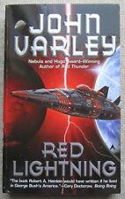 Red Thunder (Thunder and Lightning #1) by John Varley PB 1st Ace