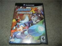 MEGA MAN X COLLECTION GAMECUBE EMPTY REPLACEMENT CASE & ARTWORK