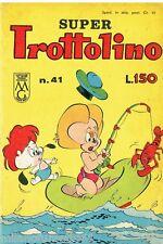 SUPER TROTTOLINO N. 41 del 1963 Edizioni Bianconi (con storia di GEPPO)