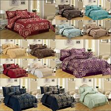 Comforter set 7 Piece Bedspread Throw Bedding Set Quilted Bedspread with sheet