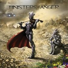 MINISTERS OF ANGER - Renaissance (NEW*US TECH/THRASH METAL*DAMN THE MACHINE)