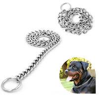 Adjustable Choke Chain Collar Dog Pets Puppy Training Choker Collar Chain Gift