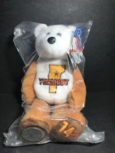 NEW Limited Treasures VERMONT State Quarter Coin Bear w/Tags RETIRED 2001 L@@K