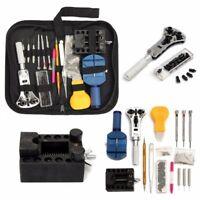 144Pcs Watch Back Case Opener Remover Repair Screwdriver Kit Watchmaker Tool Set