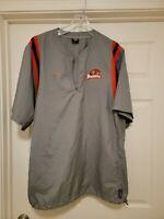 Vintage 90s Nike Oregon State Beavers Player Used Team Worn Jacket Sz L RARE