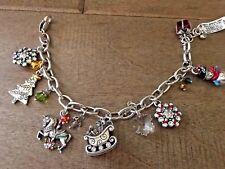 Brighton Nwt Christmas Wonderlland Charm Bracelet