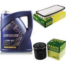 Aceite de Motor 5L Mannol Defender + Mann-Filter para Toyota Yaris NHP13 _ NSP13