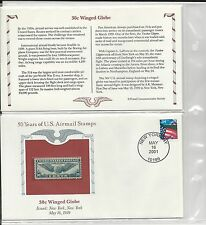 Historic U. S. Airmail Preserved Commemorative W/Mint RET.787.05 (LR460)