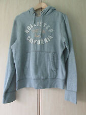 mens HOLLISTER GREY COTTON HOOIDE SIZE LARGE