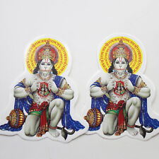 Aufkleber Sticker 2x HANUMAN  Indien Goa Hippie God-Stickers India Puja OM 84