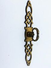 French Provincial Antique Hardware Vintage Drawer Pull Knob Brass Cabinet Pull