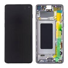 LCD OLED S10+ S10 PLUS G975F ECRAN LCD TACTILE SAMSUNG GALAXY BLANC PRISME