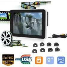 "Universal 9"" HD 1080P Digital Color LCD Screen Car Headrest Monitor TV Player"
