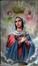 1960 santino Madonna MARIA Regina Mundi-Santuario di Bonea-V 907