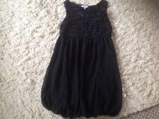 Little Negro Puff/burbuja dobladillo vestido Talla 10