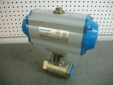Jamesbury Spring Return Pneumatic Actuator Vpvl250 Sr45bc 116psi Withassembly Nob