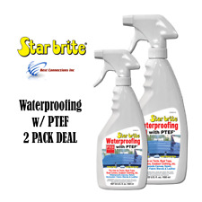 2 Pack Star Brite 81922 22oz Waterproofing w/ Ptef Boat Cover Cleaning Supply