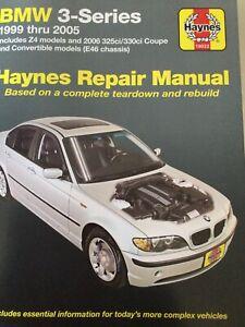 Haynes Repair Manual BMW 3 Series